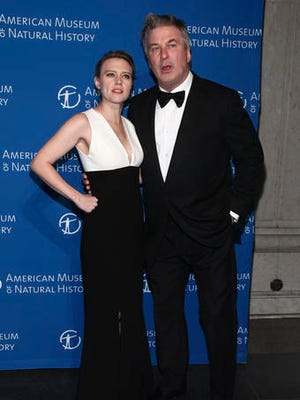 Kate McKinnon, left, and Alec Baldwin attend the American Museum of Natural History's Museum Gala on Thursday, Nov. 17, 2016, in New York.