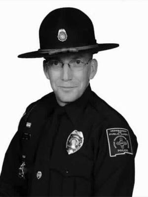 New Mexico Motor Transportation Police officer Robert A. Potter will be honored for his dedication to serving the residents of New Mexico with a plaque bearing his name is placed at the Otero County Fallen Officer Memorial Park Friday.