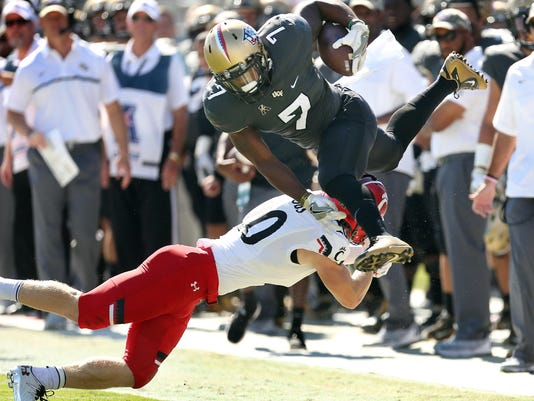 UCF hosts Cincinatti Football