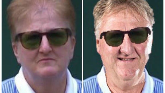 Twitter reacts to Wimbledon official who looks exactly like Larry Bird
