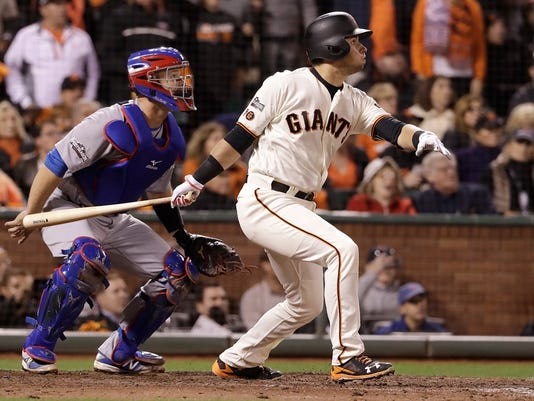Brandon Crawford,David Ross