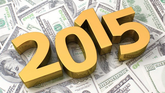 Start now to help make your 2015 a profitable one.
