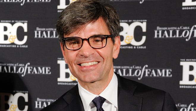 George Stephanopoulos in 2014.