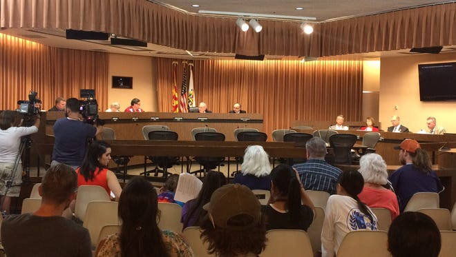 The Tucson City Council unanimously approved a resolution against construction of a wall on the U.S.-Mexico border.