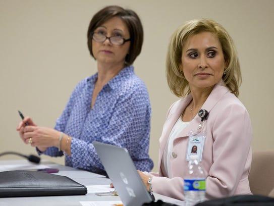 Scottsdale Unified School District President Barbara