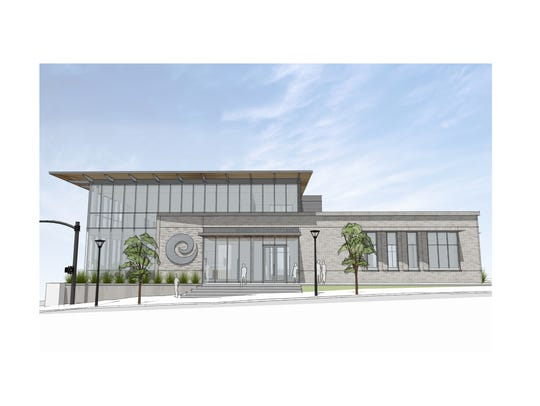 Rendering of Envision Credit Union's new two-story
