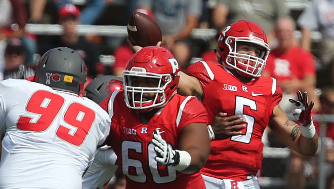Rutgers takes on New Mexico in a NCAA football game at High Point Solutions Stadium in Piscataway on Saturday September 17, 2016