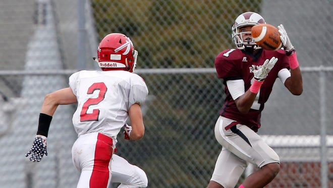 Keyport High School football team traveled into Middlesex County to take on South River in a varsity football game in South RIver on Saturday October 1, 2016.