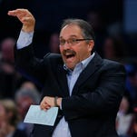 Pistons coach SVG not panicking, says team's 'hanging in there'