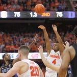Gillon's 3 at buzzer lifts Syracuse past No. 10 Duke 78-75