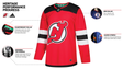 An overview of the new Devils jersey.