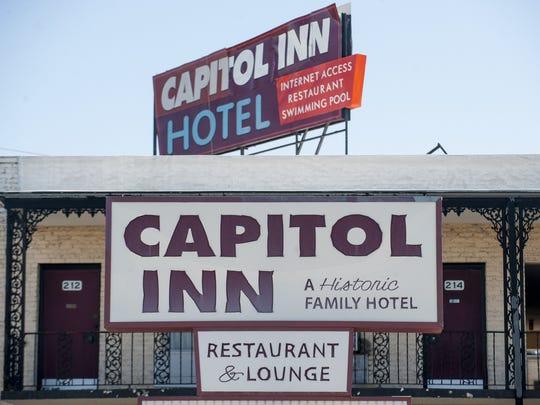 Capitol Inn on Goldwaithe Street overlooking downtown