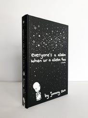 "Jonny Sun's book, ""everyone's a aliebn when ur a aliebn"