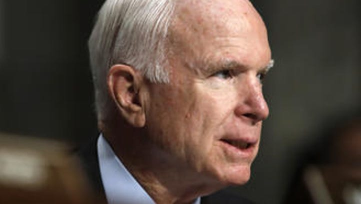 Meghan and Cindy McCain share new photos of Sen. John McCain