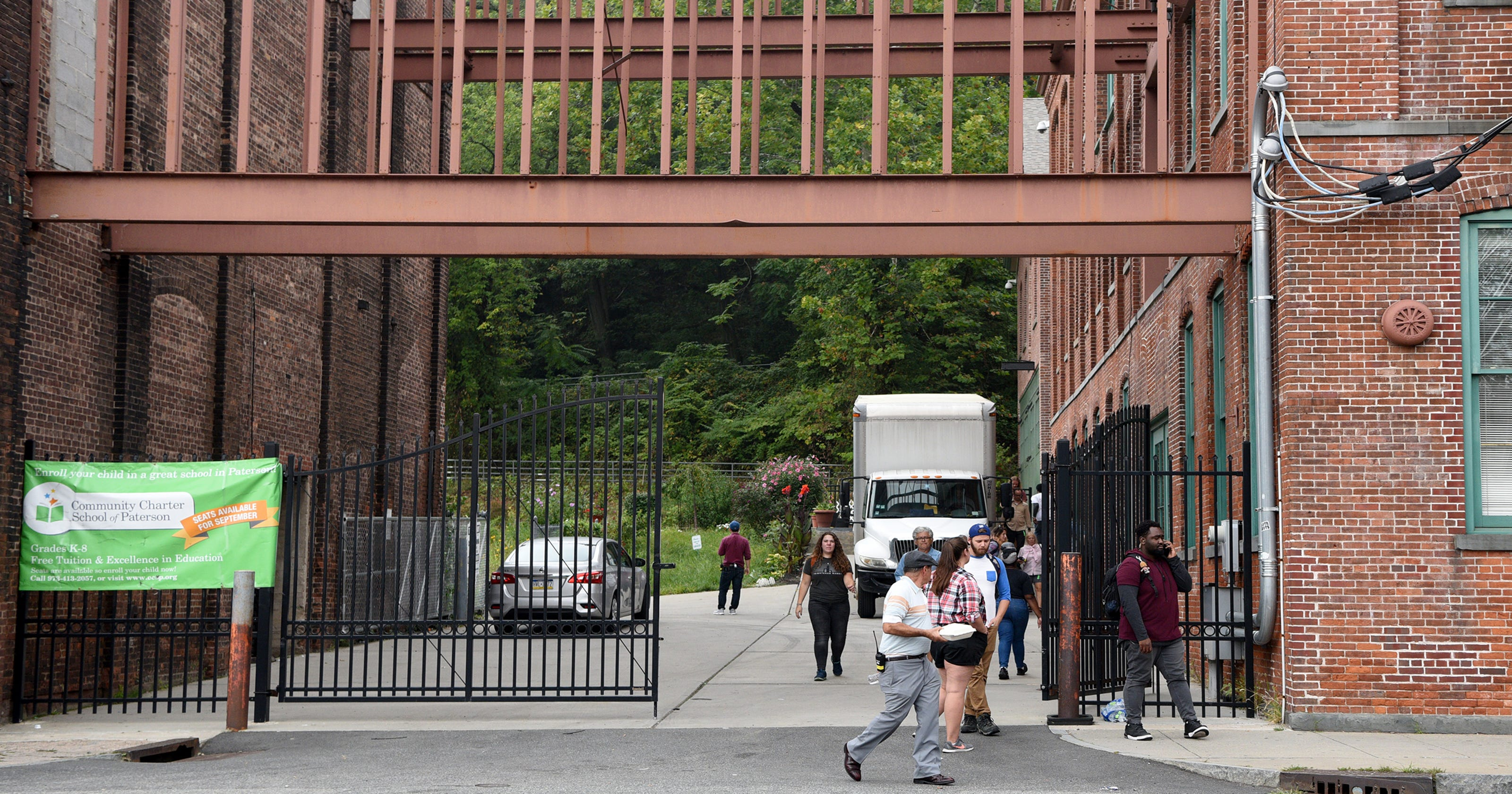 Scorsese film crew shooting scenes in Paterson
