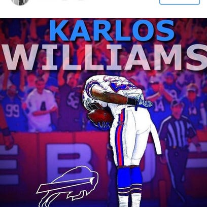 Ex-Bills running back bows out gracefully on Instragram.