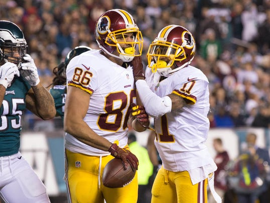 Jerseys NFL Wholesale - Extension with Redskins makes Jordan Reed one of top-paid tight ends