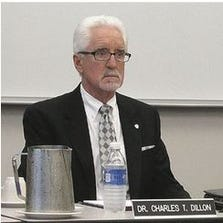Dr. Charles Dillon, President of West Shore Community College.