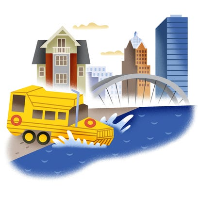 Duck Tours on the Genesee River, anyone?