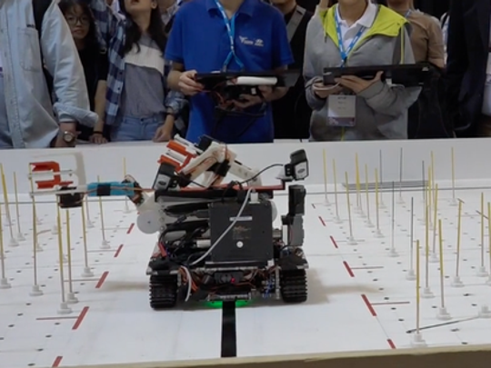 The 2017 robotics challenge was to simulate raspberry