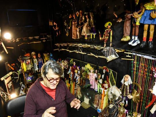 Robert Brock, owner of Lancaster Marionette Theatre,