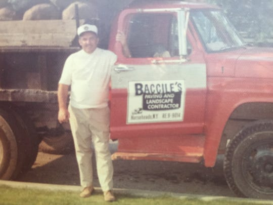 """Anthony """"Tony"""" Baccile of Horseheads ran a landscaping business for many years and then changed it to an asphalt and paving business."""