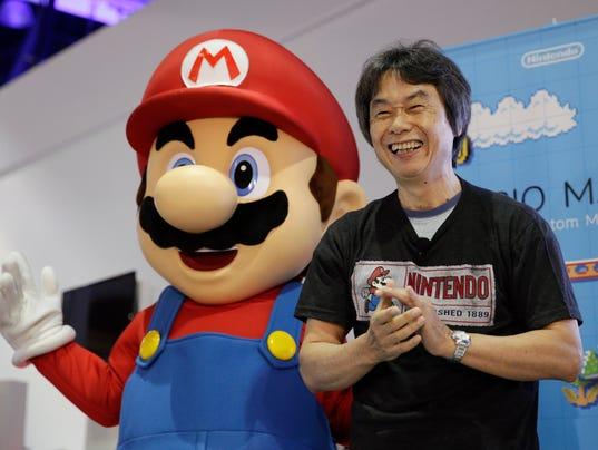 AP GAMES-NINTENDO-SHIGERU MIYAMOTO A ENT F FILE USA CA
