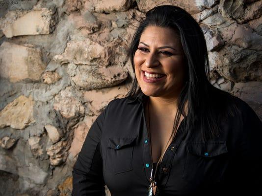 San Angelo musician, Rita Capuchina