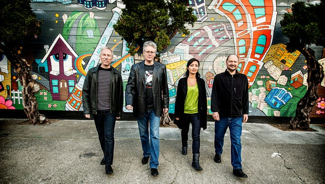 Kronos Quartet photographed in San Francisco, CA March 26, 2013