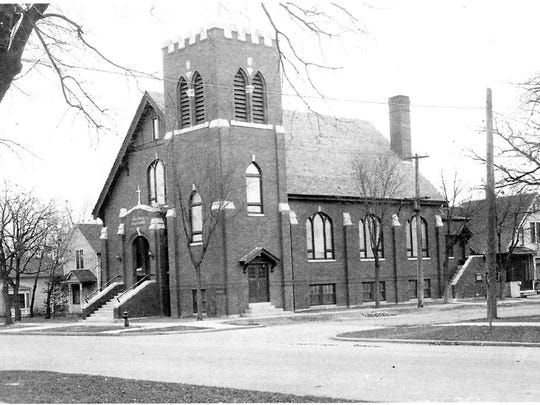 The building that housed Holy Cross Lutheran Church