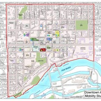 Section of Appleton's downtown being studied for traffic and mobility.