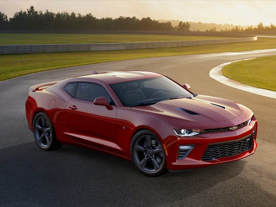 Chevrolet unveiled the 2016 Camaro SS Saturday on Belle Isle.