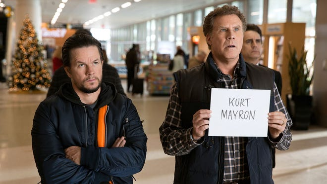 "Mark Wahlberg, left, and Will Ferrell in ""Daddy's Home 2."""