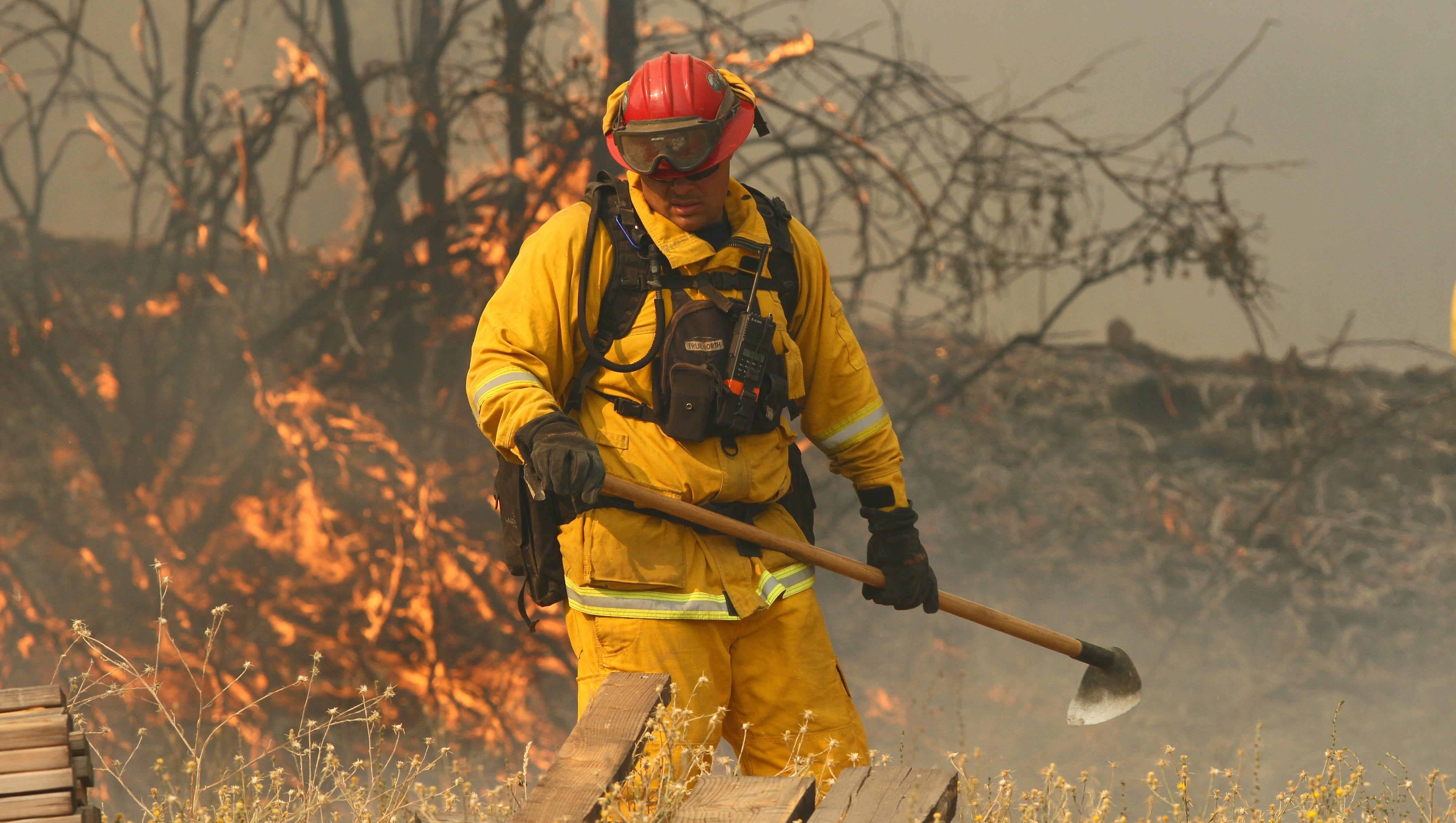 FIRE MARSHAL FIREFIGHTER FIRE MAN  License Plate Frame