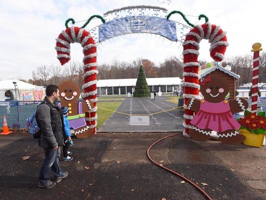 Van Saun Park in Paramus  host a new winter attraction