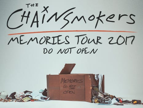 Win 2 tickets to see The Chainsmokers in their Memories Do Not Open tour! Enter 4/3-4/24