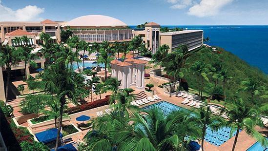 The El Conquistador, A Waldorf Astoria Resort in Fajardo, Puerto Rico.