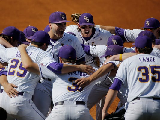 SEC LSU Florida Baseball