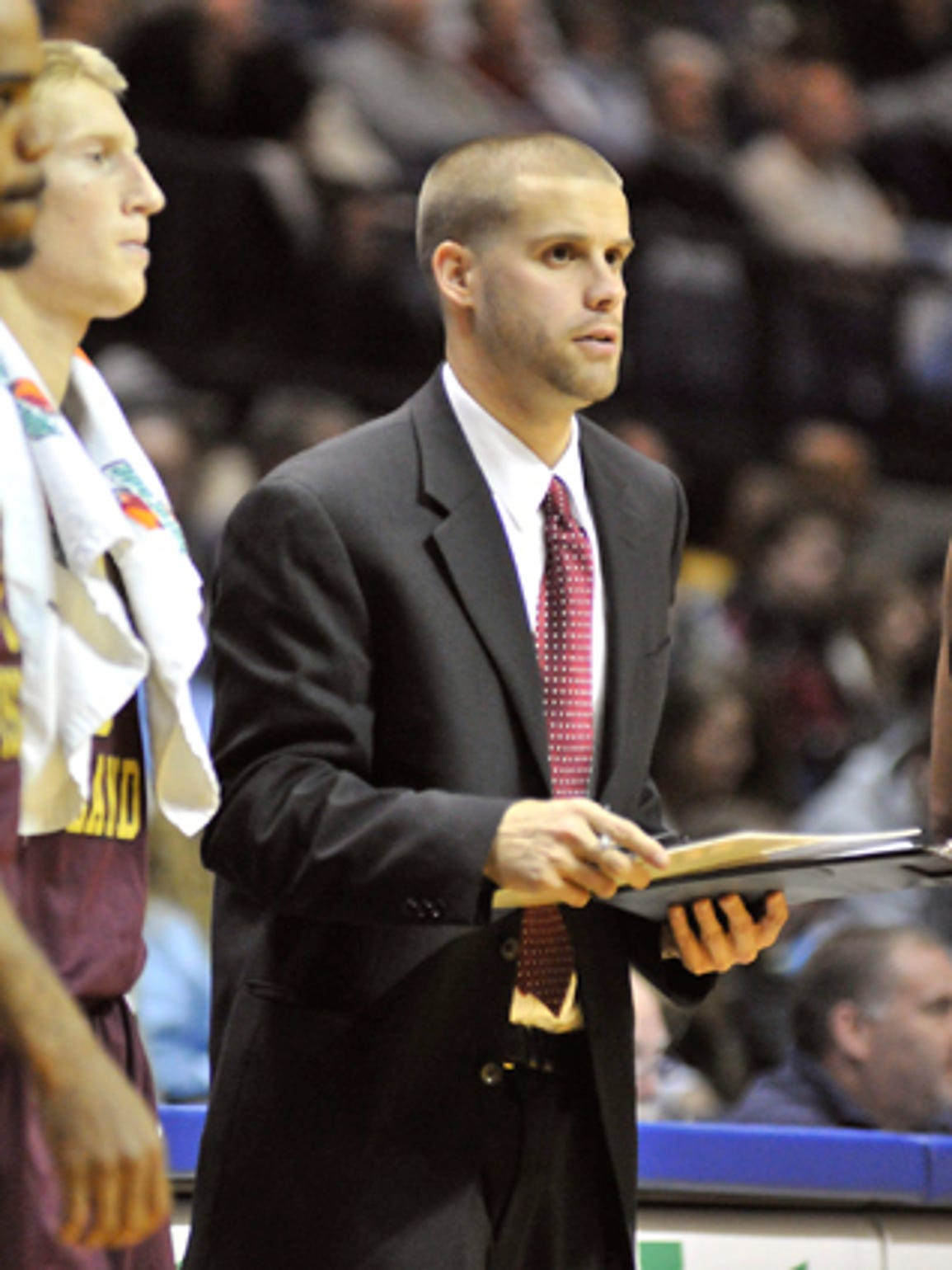 Chris Burns spent two years as an assistant coach at