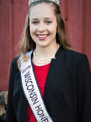 Much of the work helping to educate the public about the importance of honey bees and the nutritional benefits of honey is done by the Wisconsin Honey Queen, who travels to schools and various media outlets. Hannah Sjostrom of Maiden Rock, Wis., served in that role last year.