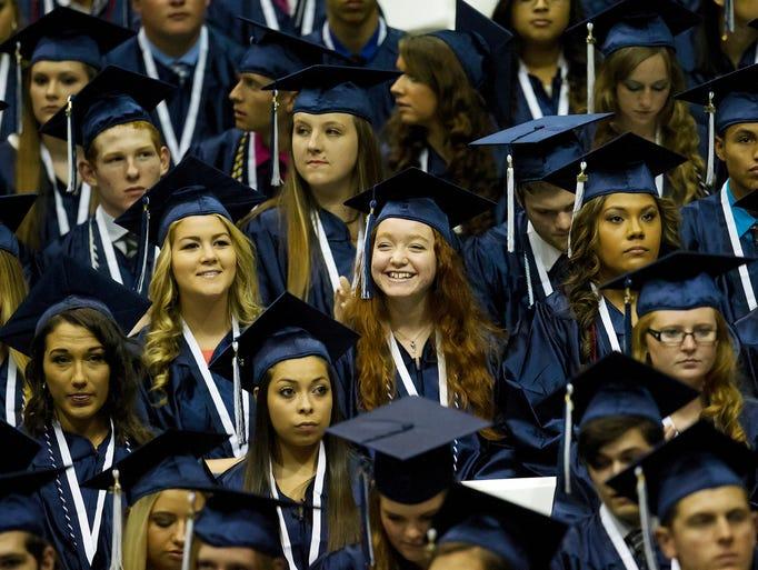 389 Estero High School seniors graduated Saturday at the school's commencement at Alico Arena.