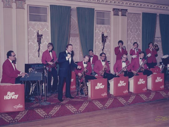 Original Ron Harvey Orchestra, directed by Harvey, in the 1960s.
