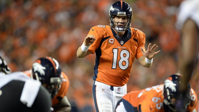Peyton Manning and the Broncos are determined to finish what they've started.