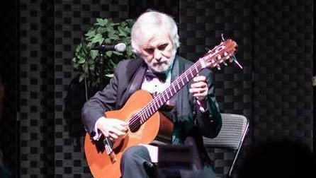 """Classical guitarist John De Chiaro will perform in """"A Musical Journey,"""" a concert presented by Abendmusik Alexandria, at  6 p.m. Thursday on the Hearn Stage at the Kress Theatre in downtown Alexandria."""