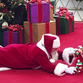 Santa lies down on floor for boy with autism