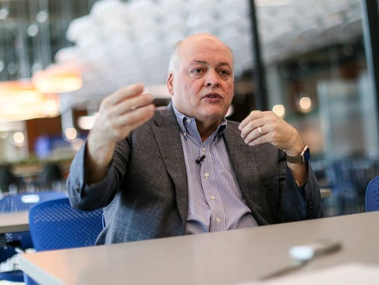 Jim Hackett is the CEO of Ford Motor Company and is