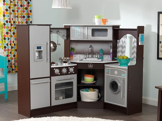 These 45 toys and products have earned the NAPPA seal of approval in 2017. Pictured is the KidKraft's Ultimate Corner Play Kitchen w/ Lights & Sounds.