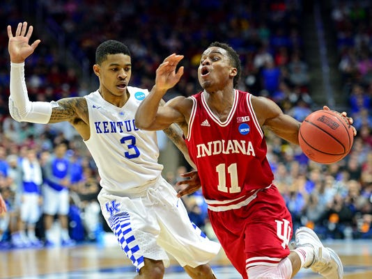 9ee0663ab NCAA Basketball  NCAA Tournament-Second Round-Kentucky vs Indiana
