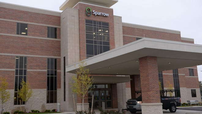 Sparrow's new health center, located at 2909 E. Grand River Ave., opened in November 2016.