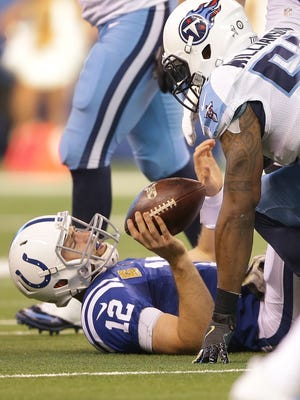 Colts quarterback Andrew Luck remains in the NFL's concussion protocol and will not play Thursday.